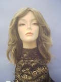 thumbnail picture - manufacturer: Wig America - model: Farrah Fawcet - color: 8/T124 (Lt. Chestnut Brn. Root tipped w/Lt. Gold. Bln.)